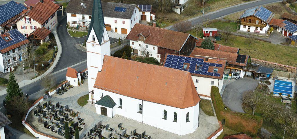Planungsbüro Grassl Komplette Bestandsaufnahme Pfarrkirche - Arbing